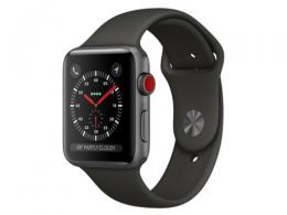Apple Watch Series 3 GPS+Cellularモデル 42mm MR302J/A